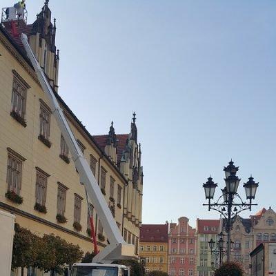 Prace na Rynku we Wrocławiu 1
